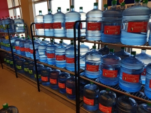 bottled water at sobeys in south regina