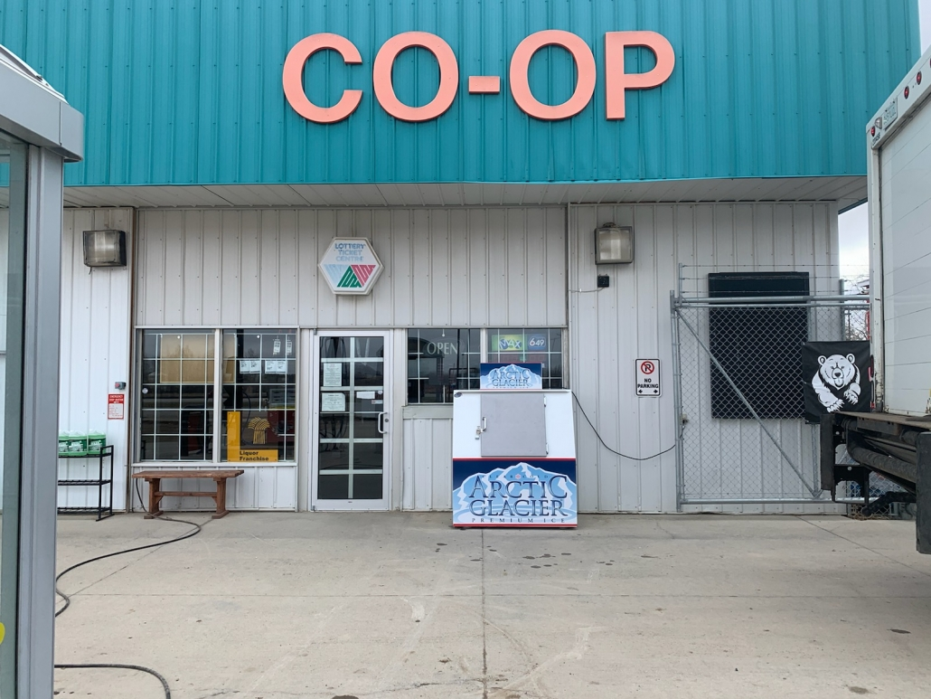 Co-op in Young, Saskatchewan