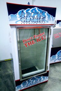 glass freezer 30