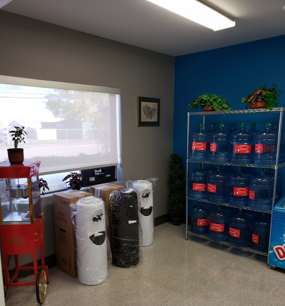 rent a water cooler in regina