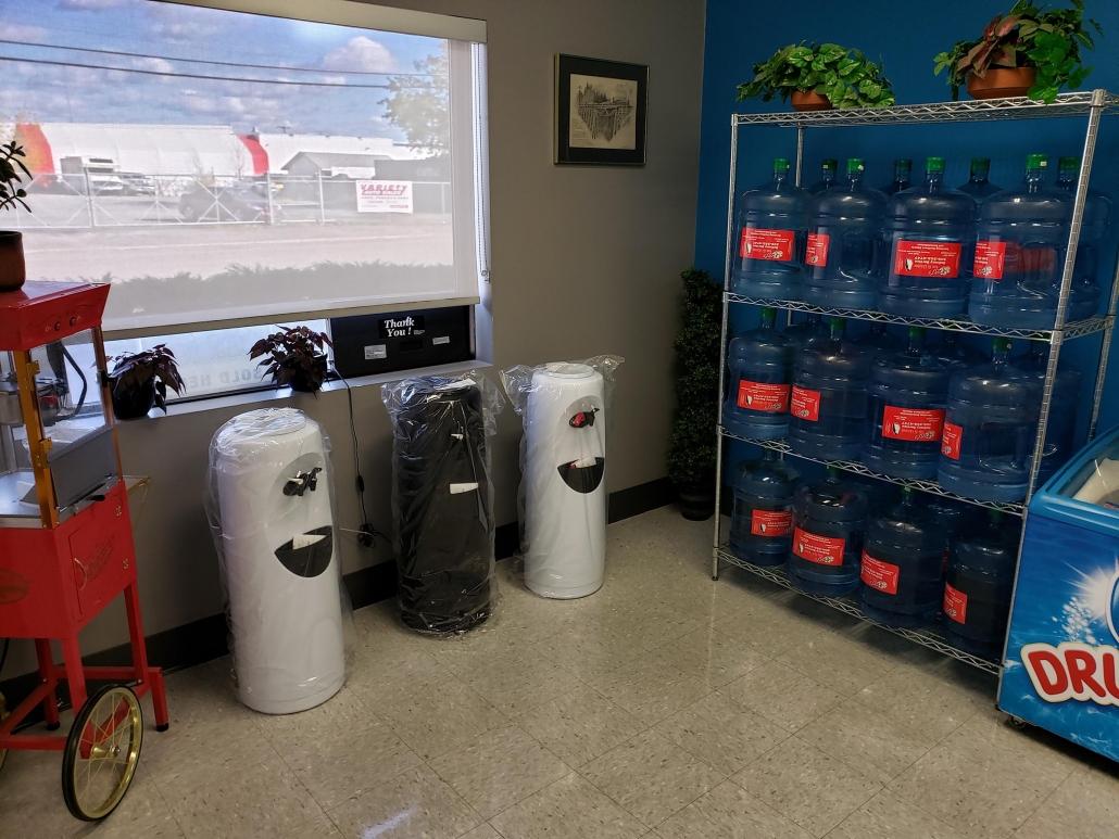 water bottle delivery in regina