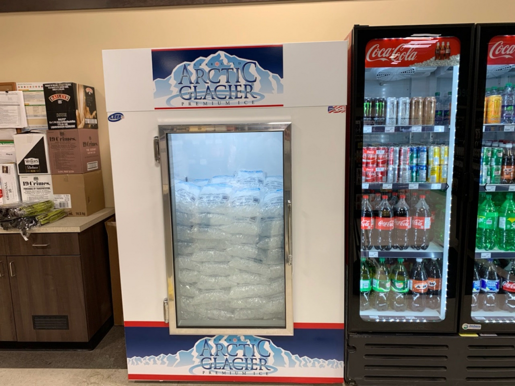 bagged ice Sobeys liquor store. Tisdale Sk
