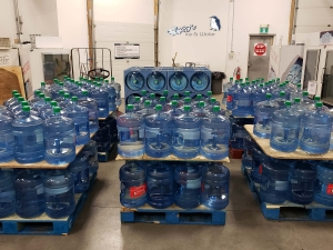 water delivery in Regina