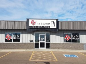 RJs ice and water-new store in medicine hat