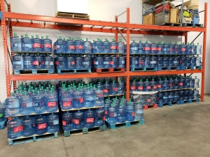 bottled water ready for delivery-RJS ice and water