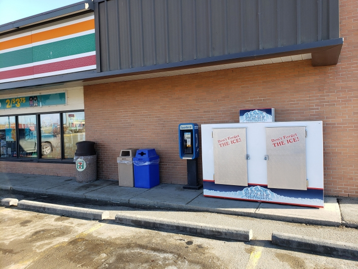 Ice available for pickup-Swift Current