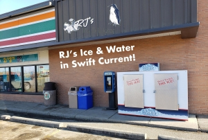 Ice available for pickup-Swift Current-dont forget the ice